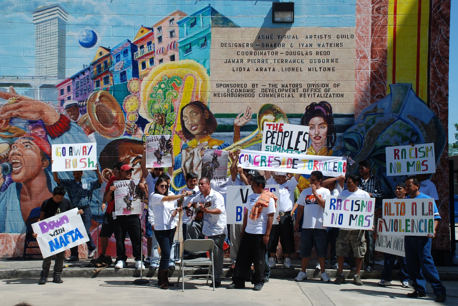 Justice Roars New Orleans Workers Center Calls On Janet Napolitano