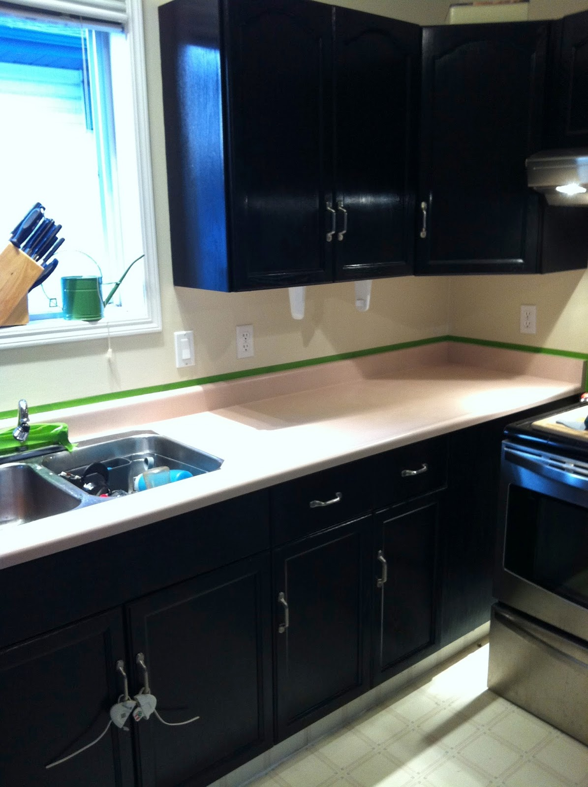 ... and Caffeinated: Paint Your Countertop: Giani Granite Countertop Paint