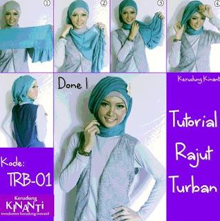 Aneka Tutorial Hijab Modern untuk Lebaran
