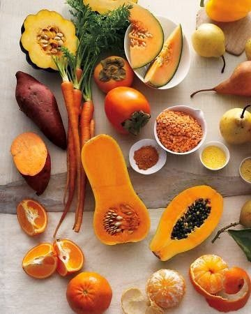 autumn healthy fruits
