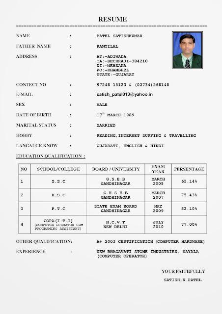Contoh Resume Bahasa Melayu Microsoft Word Image Gallery - HCPR