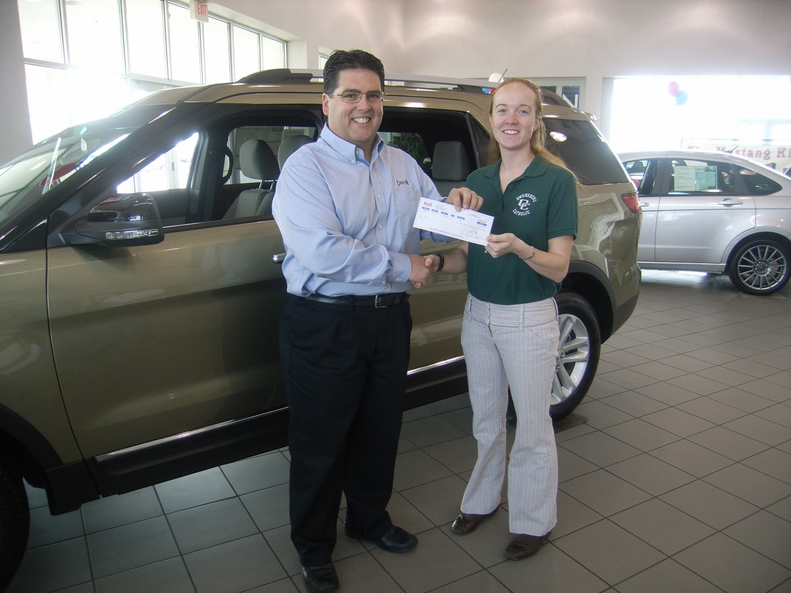 owensboro catholic schools ochs wins champion ford commercial contest. Cars Review. Best American Auto & Cars Review