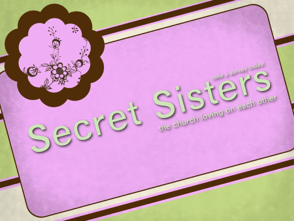 Secret Sister Revealing Cards   just b.CAUSE
