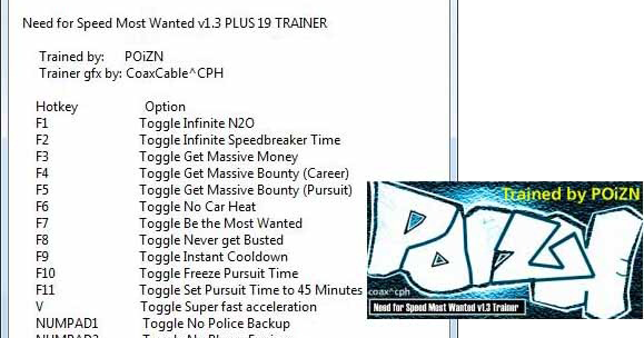 nfs most wanted patch 1.3 crack