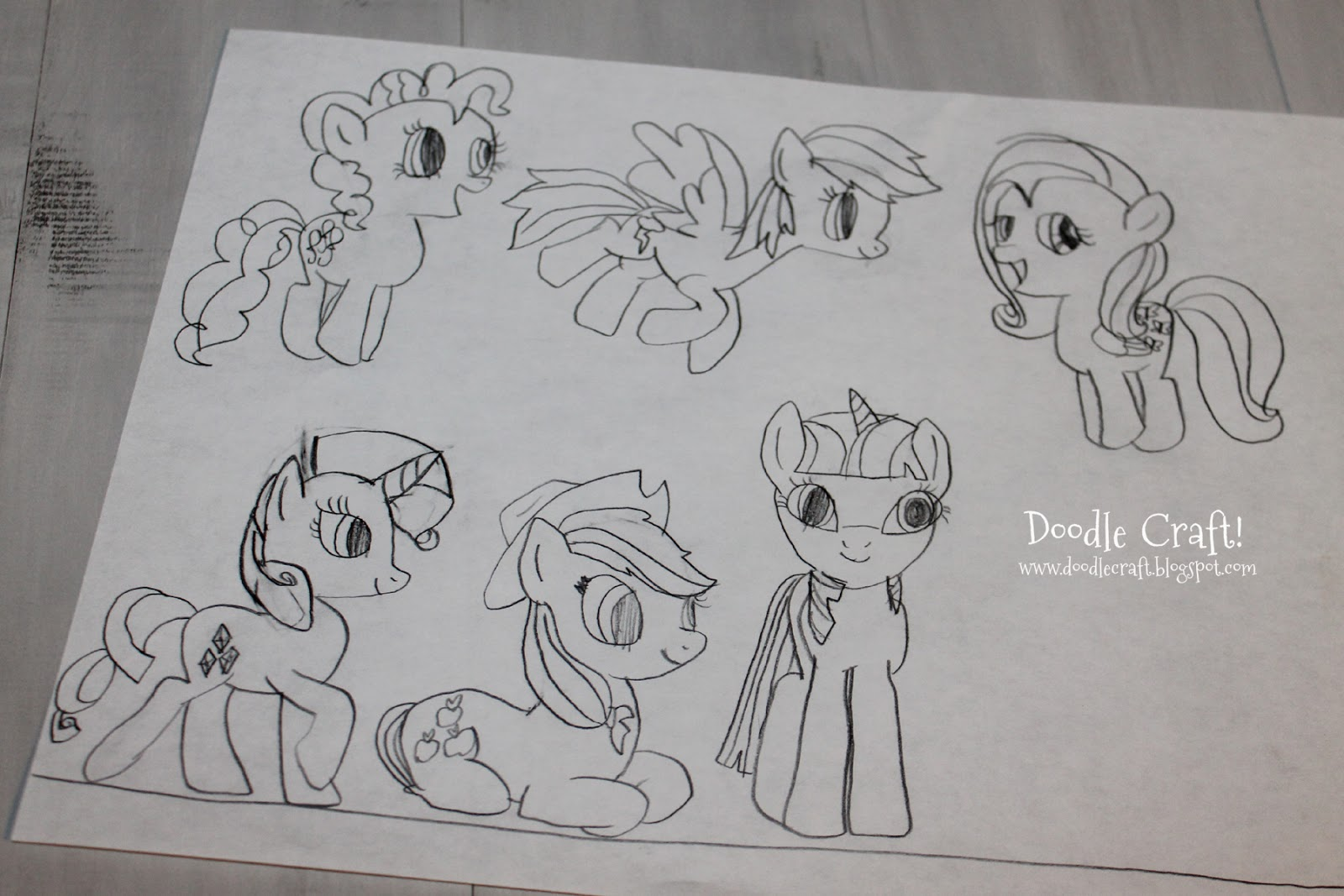 My little pony body drawing doodle craft design and draw your - My Little Pony Body Drawing Doodle Craft Design And Draw Your 5