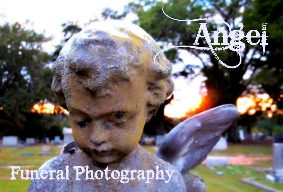 Angel Funeral Photography