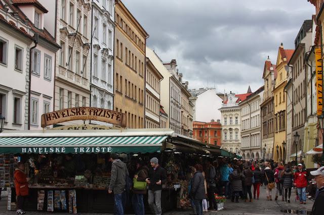 Сувенирный рынок, Прага, Чеихия.