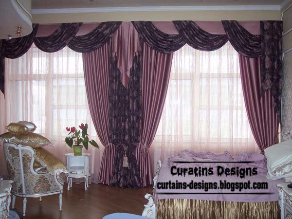 top 15 purple curtains and windows treatments styles