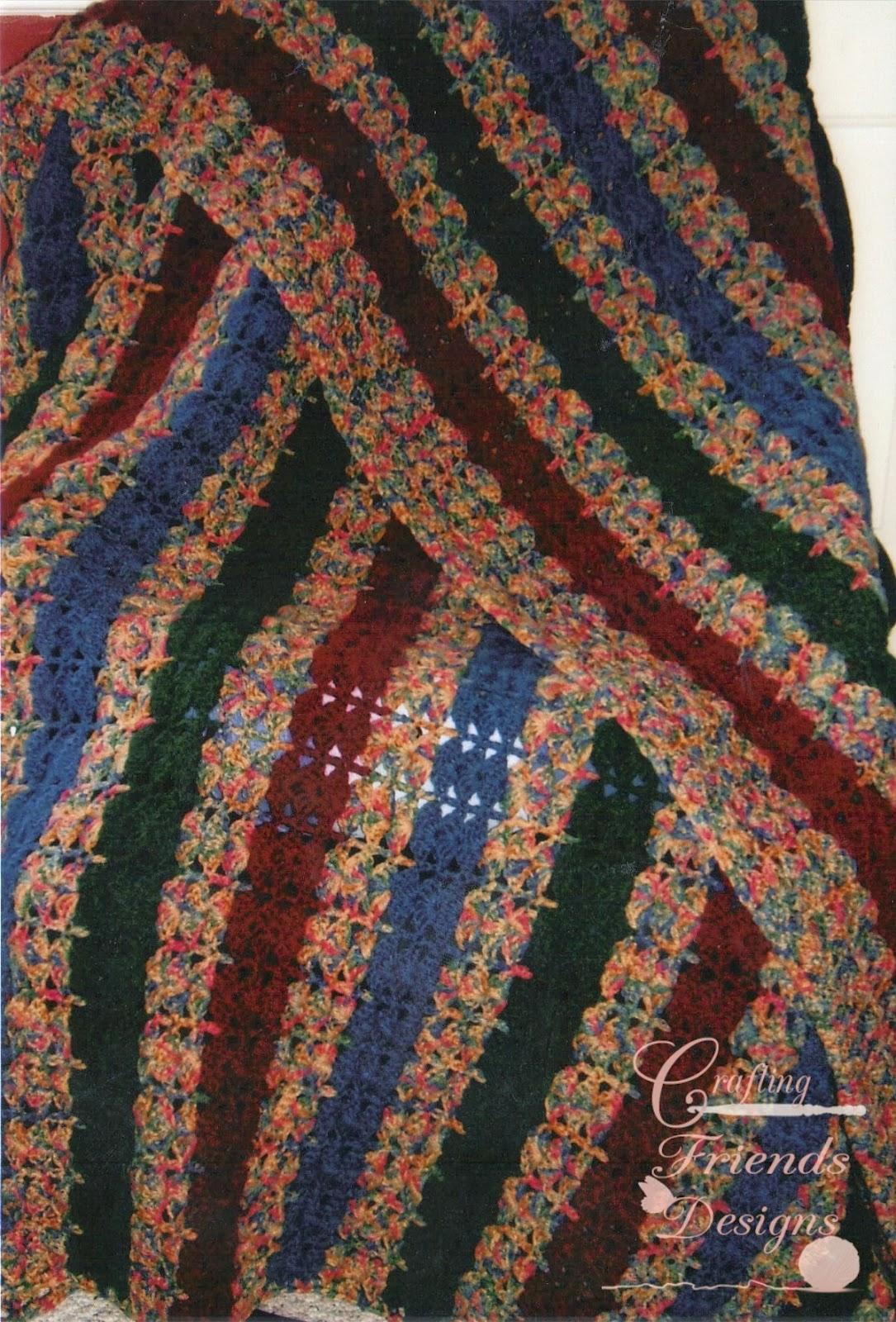 Rainbow Crochet Blanket Squares