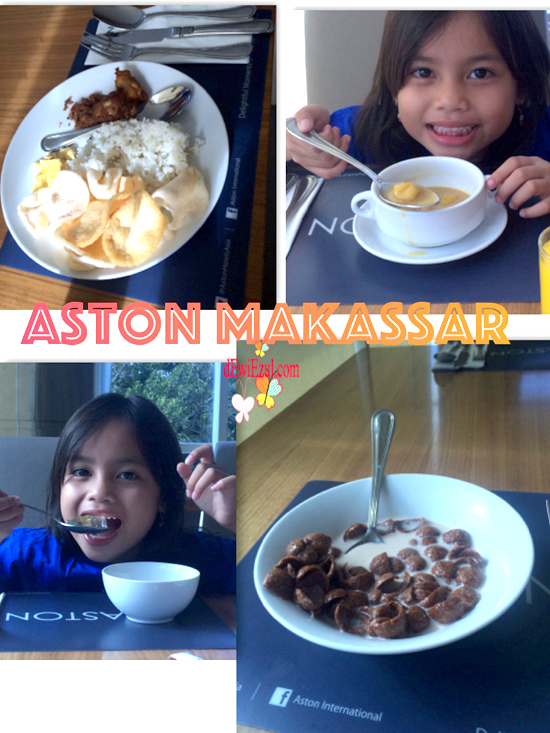 breakfast di Aston makassar