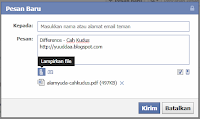Tips Mudah Mengirim File Via Facebook Messages