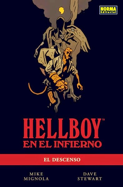 hellboy en el infierno el descenso comic mignola norma editorial
