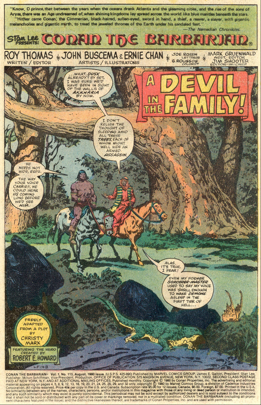 Conan the Barbarian (1970) Issue #113 #125 - English 2