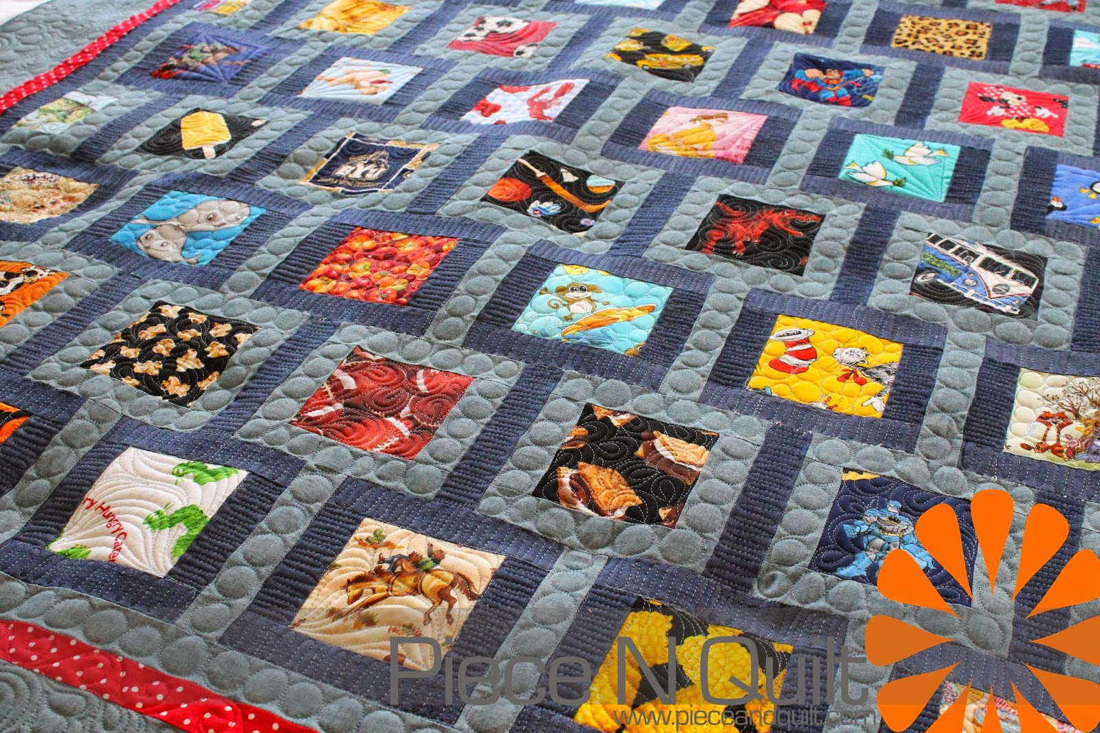 Piece N Quilt: Eye-Spy Quilt