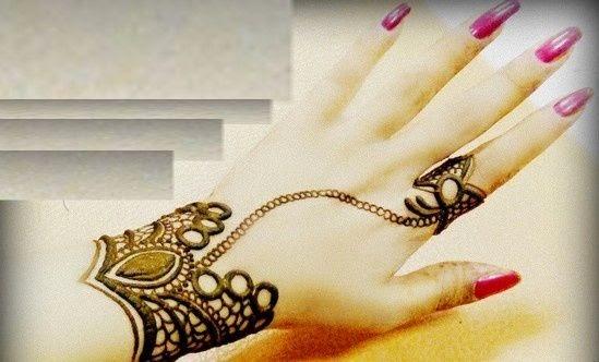 Mehndi Hairstyles 2014 : Mehndi designs latest styles for pakistani and