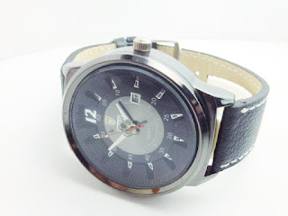Jual jam tangan Ferrari Black Gaia, harga murah dan grosir online. Jam tangan pria model tali kulit | Stylengo.biz