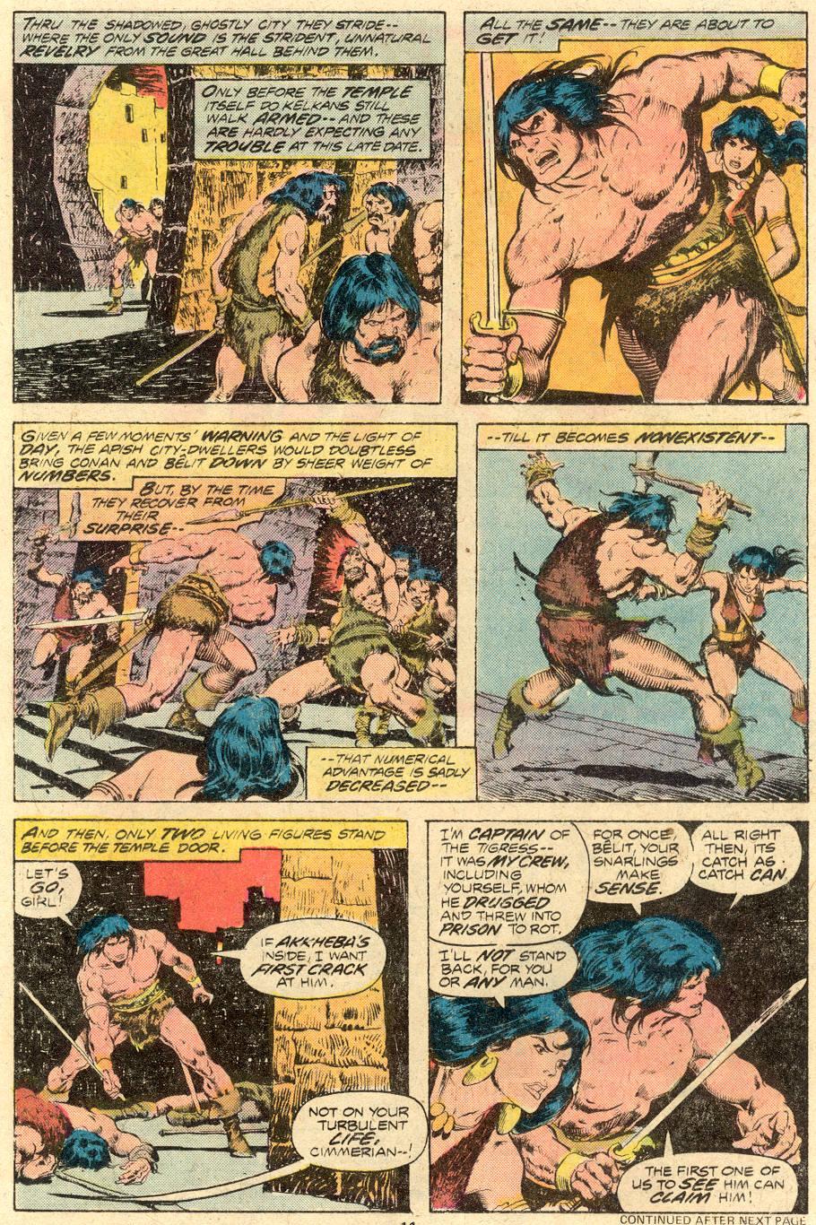 Conan the Barbarian (1970) Issue #71 #83 - English 8
