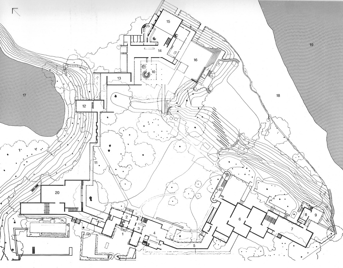 1000 images about louisiana museum on pinterest for Plan architecture moderne
