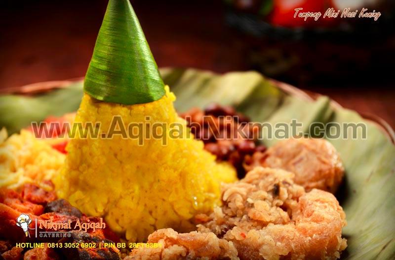 Tumpeng Mini Nasi Kuning Nikmat Aqiqah