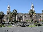 La Plaza De Armas  Arequipa - Peru