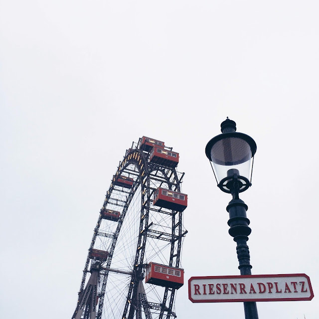 GrinseStern, Travel, Reise, Christkindlmarkt, Wien, Prater, Riesenrad
