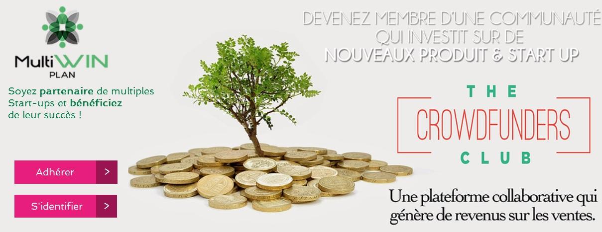 Multi-sources MultiWin Plan recevez des royalties chaque mois de 500 € ou 2500 € et bien plus...