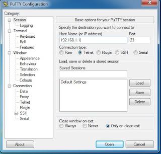 Cara Melihat Password dan Nomor Telkom Speedy di Modem TP Link