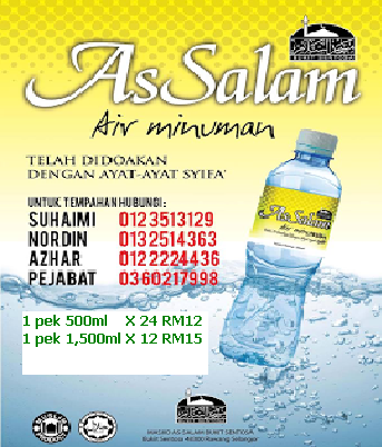 AIR MINUMAN ASSALAM