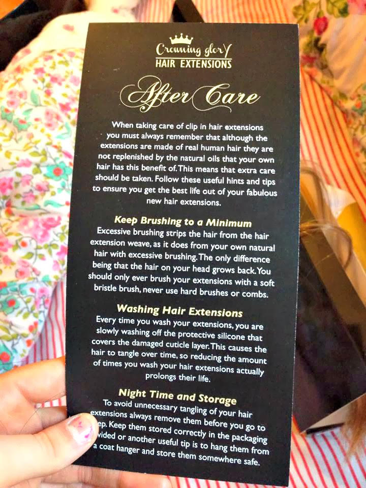Crowing Glory Hair Extensions Review Stitches Of Style