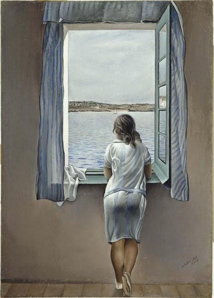 Salvador Dali - Personnage à la fenêtre,1925.