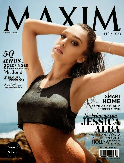 Jessica Alba - Maxim Mexico, December 2014