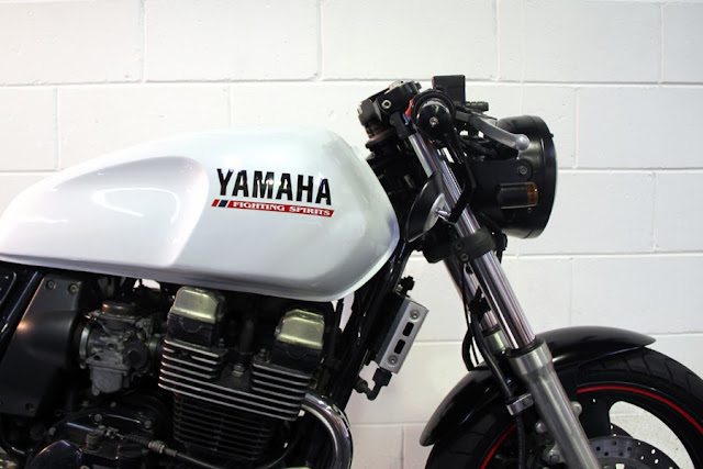 Yamaha XJR400 Cafe Racer | Yamaha Cafe Racer | 1995 Yamaha XJR400 Cafe Racer | Yamaha XJR400 | custom Yamaha XJR400 | Yamaha Cafe Racer parts | Yamaha Cafe Racer seat | Yamaha Cafe Racer tank | Yamaha Cafe Racer for sale