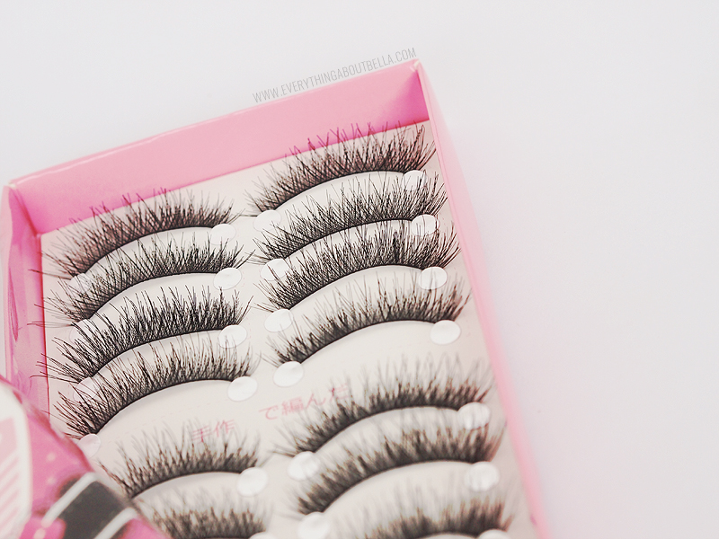BornPrettyStore Lashes HS-1 review