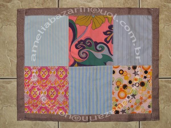 tapete de retalho de tecido
