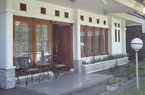 contoh desain modern teras rumah minimalis
