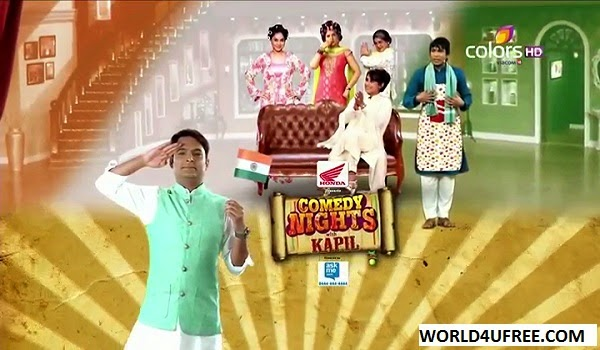 Comedy Nights With Kapil (Rani Mukherjee-Mardaani) 16th Aug 2014 WEBHD 480p 300mb