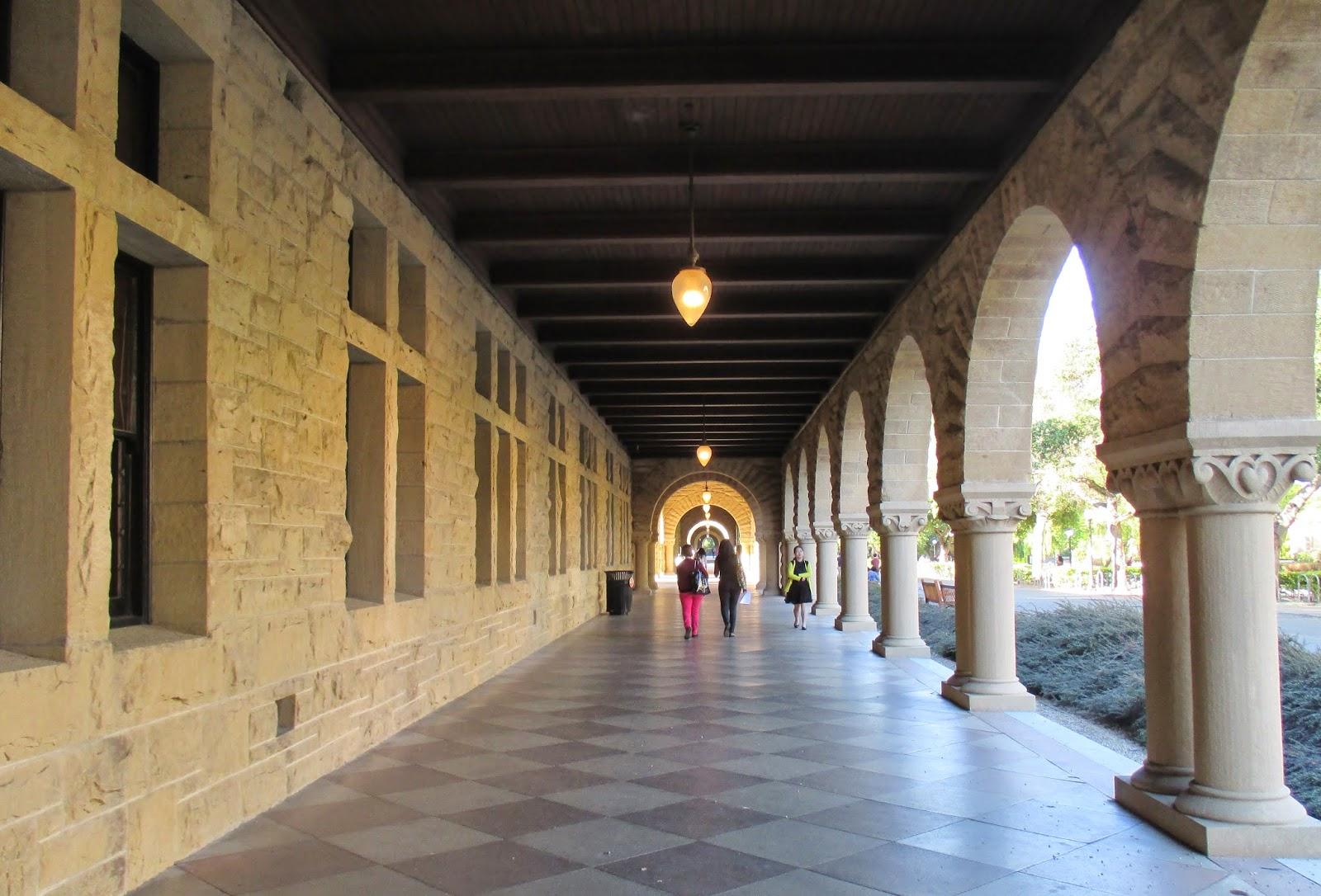 Stanford University Hallway