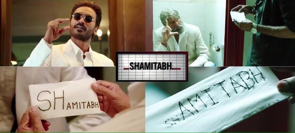 ego clashes between Dhanush and Amitabh Bachchan in Shamitabh movie