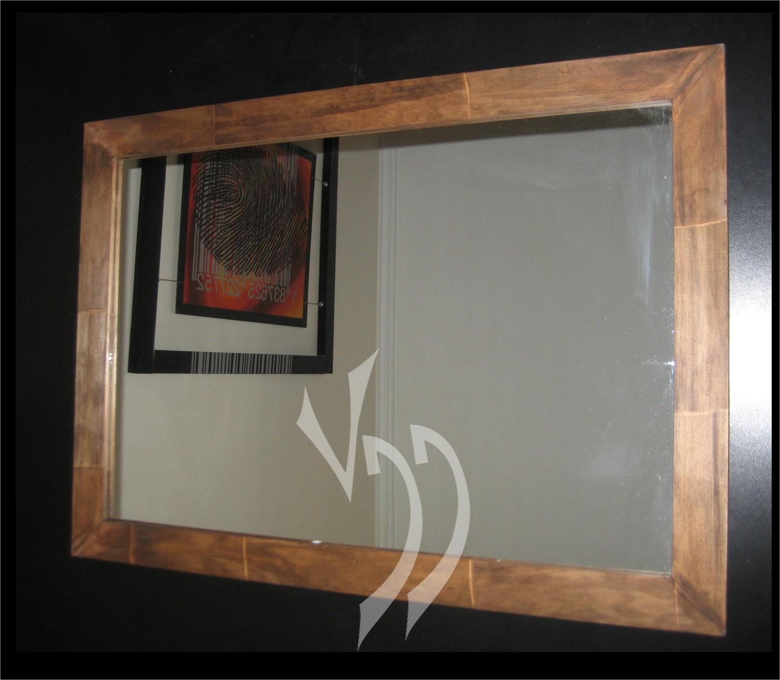 Vddise o interior espejos con marcos de madera for Espejo marco wengue