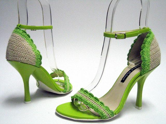 Вязание пинеток кроссовки