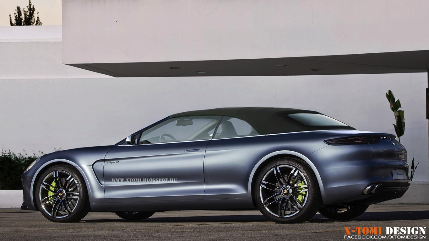 Porsche Panamera Cabrio Coming