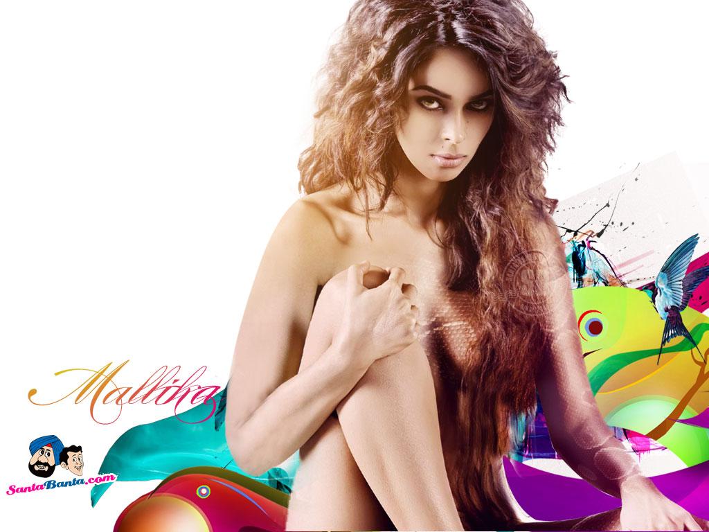 Mallika sherawat in bikini teach