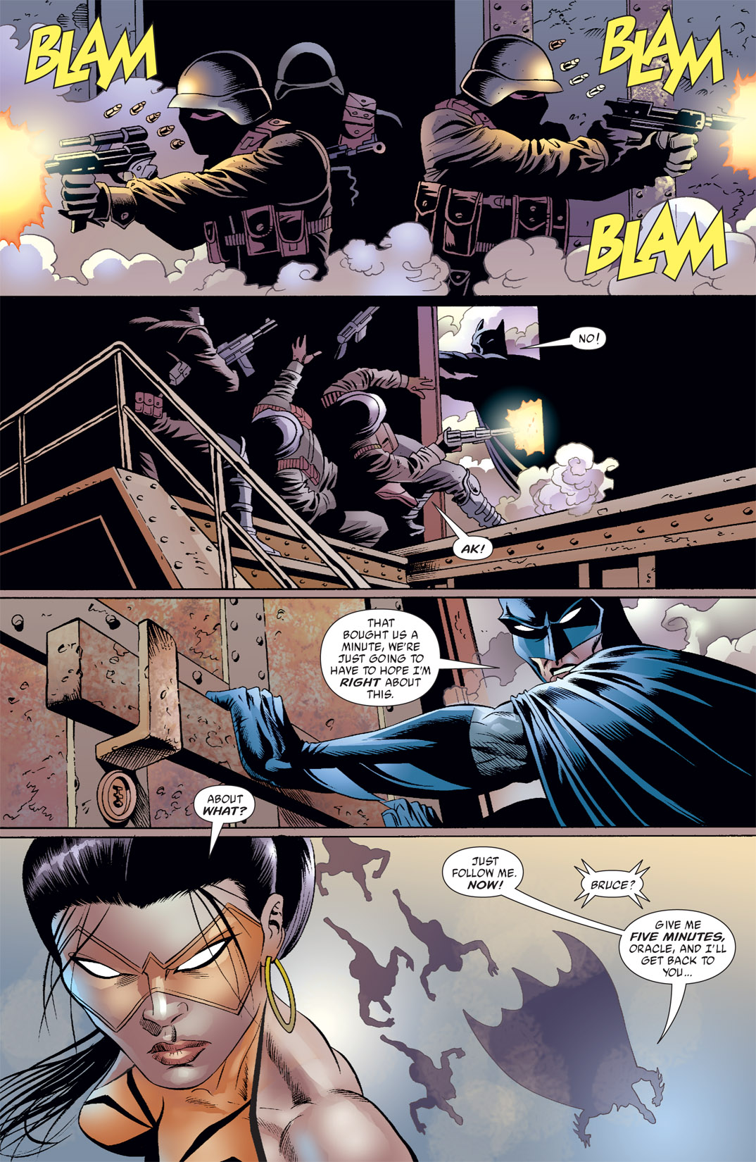 Read online Batman: War Games comic -  Issue #7 - 13