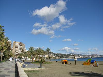 Paseo Maritimo in Malaga