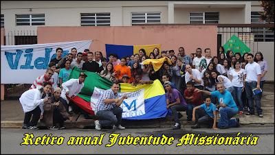 Retiro anual da Juventude Missionária em Guarulhos/SP