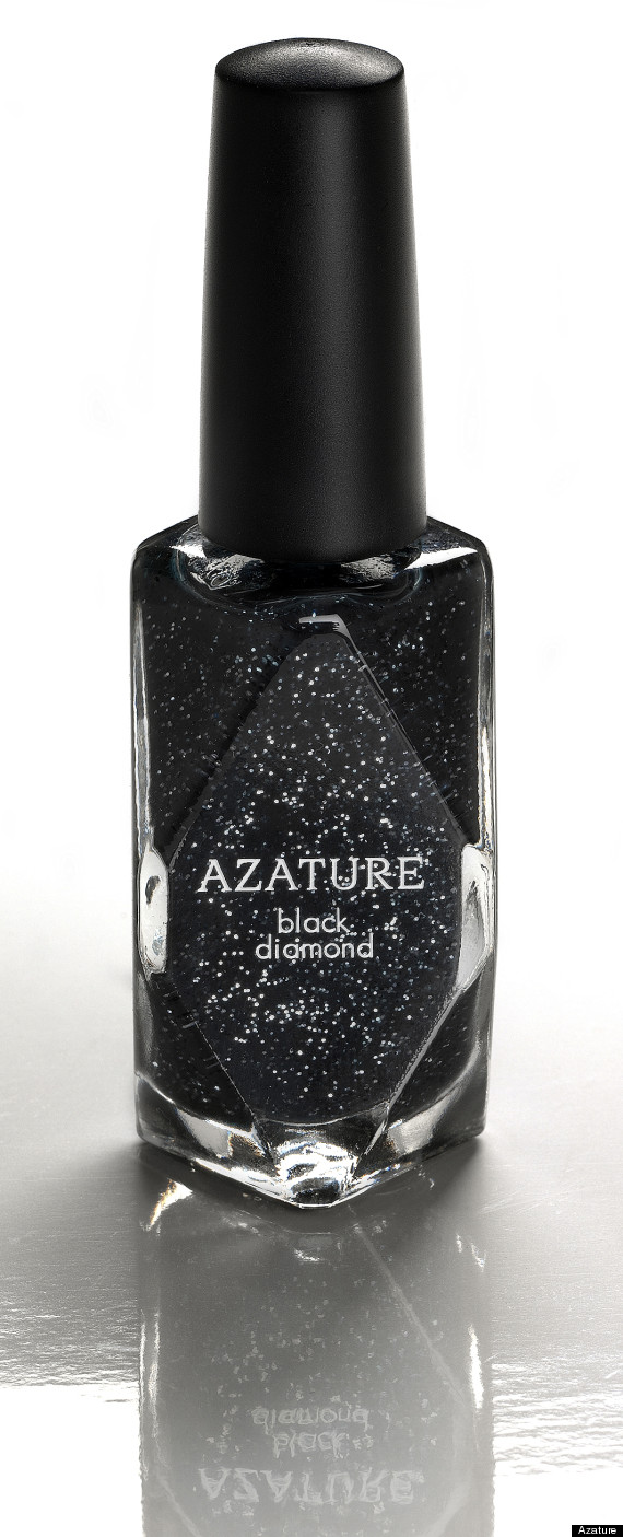 Azature $250,000 Black Diamond Nail Polish - World\'s Most Expensive ...