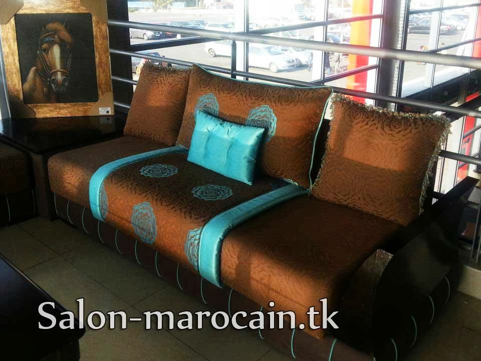 D coration salon marocain moderne 2016 canap marron turquoise moderne 2013 for Decoration salon moderne 2013 en marron