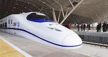 """الصين تبدأ تشغيل القطار """"الطلقة"""""""