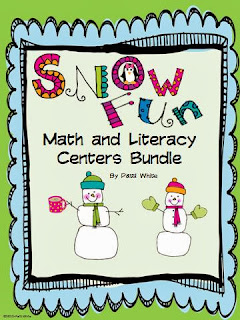 http://www.teacherspayteachers.com/Product/Snow-Fun-Math-Literacy-Centers-Bundle-195250