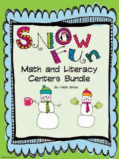 http://www.teacherspayteachers.com/Product/Snow-Fun-Math-Literacy-Centers-Bundle-195250